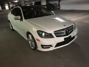 2012 Mercedes-Benz C-Class C350 4-MATIC Coupe (2 door)