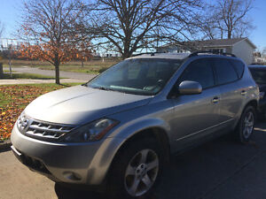 2005 Nissan Murano SL SUV, Crossover -Excellent for Parts/Fixing Kitchener / Waterloo Kitchener Area image 2