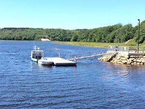 """Floating Docks / 14"""" dia HDPE Tubular Pontoons"""