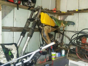 Yamaha project or parts bikes Yz, IT