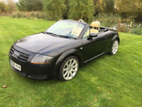 Audi TT Roadster 1.8 ( 161bhp ) Roadster 2006MY T TAN LEATHER ,FSH
