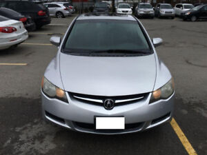 parting out the 2008 Acura CSX Sedan for PARTS!! Silver in color
