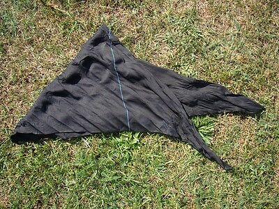 BW Marine Knoten Tuch Seide Halstuch Dreieckstuch Dreiecktuch gebr. gut erhalten