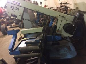 Double Miter Industrial Bandsaw