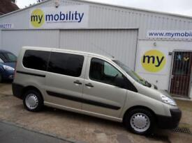 Peugeot Expert Tepee Wheelchair Scooter Accessible 5 Seat WAV MPV