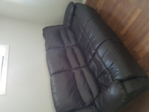 leather recliner sofa and couch