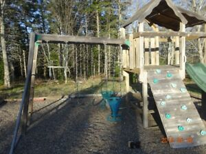 Cedar Playset - perfect for your kids