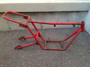 Older mini bike frame