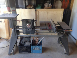 Shopsmith Mark V - Bandsaw, Sander, Lath and Table Saw in One