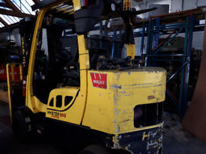 Forklift 10,000 lbs 2014 Hyster low hours