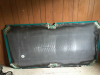 Covered Slate for Pool Table