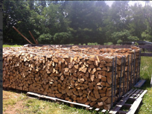 Dry seasoned firewood great for camp fires and wood stoves