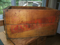 Canada Dry Antique Crate