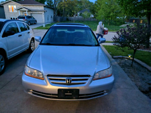 2001 HONDA ACCORD W/ SAFETY AND E-TEST