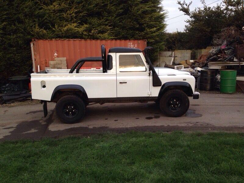 land rover defender 110 pickup in sittingbourne kent gumtree. Black Bedroom Furniture Sets. Home Design Ideas