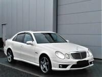 2007 Mercedes-Benz E63 AMG 6.2 7G-Tronic White 52k miles LHD