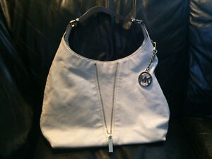 White Leather Michael Kors Purse