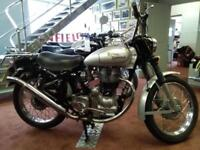 Royal Enfield Bullet 2008 350 1950s trial 6 day replica