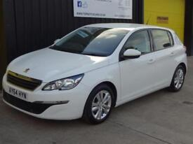 2014 (64) Peugeot 308 1.6 HDi Active NAV 5dr Diesel £0 road tax (free)