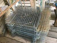 Used scaffolding boards & Brick Guards