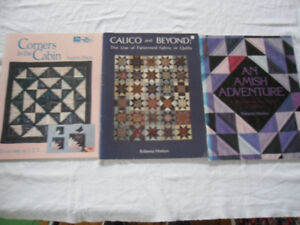 quilt books - 11 for $30