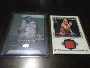 WWE WWF UPPER DECK AUTOGRAPH + RELIC WRESTLING CARD