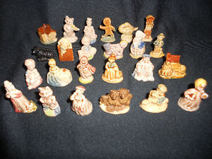 Complete Set Wade Nursery Rhyme Figurines Vintage Windsor Region Ontario image 1