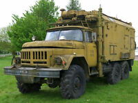 ZIL-131 GENUINE COMPLETE RUSSIAN RADIO COMMAND STATION SOVIET TRUCK 6X6 OFF ROAD