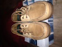 Light-brown sperry top-sider shoes size 8.5 good condition