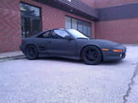 Toyota MR2 Glass T-Tops Project Car.