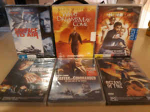 DVDs. New, sealed & in original packaging $2 each Sorrento Joondalup Area Preview
