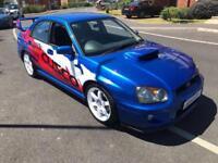 2003 Subaru Impreza 2.0 WRX BLOBEYE WRX UK STI LEATHERS Modified