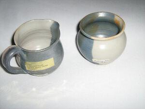 Pottery cream and sugar Kitchener / Waterloo Kitchener Area image 1