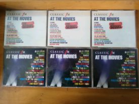 """6 Classic fm cds""""At the Movies """" & 9 """" The Ultimate Sixies Collection"""""""