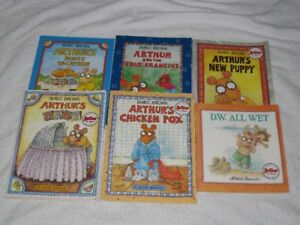 ARTHUR - CHILDRENS BOOKS - GREAT SELECTION - CHECK IT OUT!