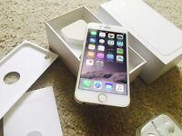 Gold Apple iPhone 6 - 16Gb - On O2/Tesco/GiffGaff