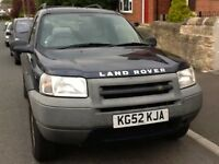 Landrover Freelander GS TD 2L NOVEMBER 2002