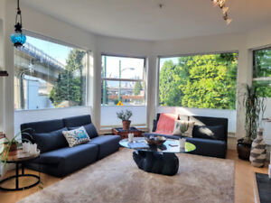 Fully furnished, updated and central - Feb 15 flexible move in