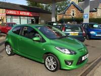 MAZDA 2 SPORT, Green, Manual, Petrol, 2008