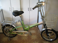 VELO ÉLECTRIQUE PLIANT PIONEER 36 VOLTS (FOLDABLE BIKE PIONEER)