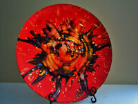 Imported Italian Decorative Plate for Sale