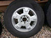 Ford F150 OEM rims and tires