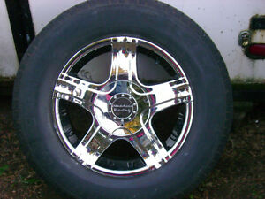 American Racing rims with Michelin tires