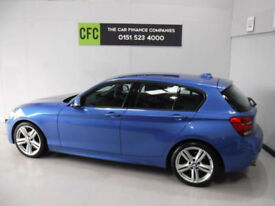 BMW 116 2.0TD Auto M Sport BUY FOR ONLY £212.33 A MONTH*FINANCE* £0 DEPOSIT