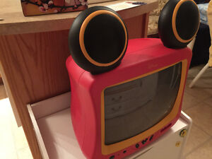 Disney Mickey Mouse TV and Remote  in Very Good Condition!!