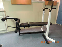 Northern Lights Bench & Leg Extension Attachment