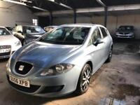 2006 56 SEAT LEON 1.6 REFERENCE 5D 101 BHP