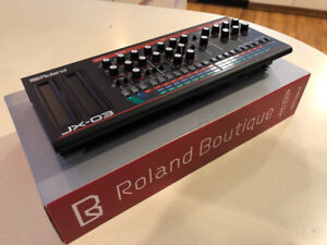 Roland Boutique JX-03 Synthesizer Module 4-Voice Polyphonic