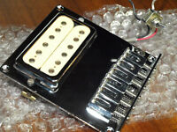 Coil-tapped 1970's DiMarzio Super Distortion in new tele bridge