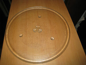 "Large 12"" Microwave Glass Turntable Plate / Tray, like new"